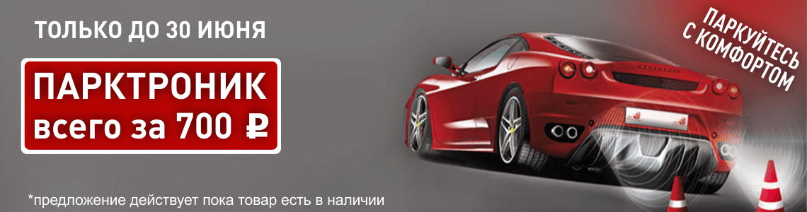 Парктроник за 700 рублей
