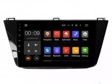 Штатная магнитола Parafar 4G/LTE с IPS матрицей для Volkswagen Tiguan 2016+ на Android 7.1.1 (PF975)